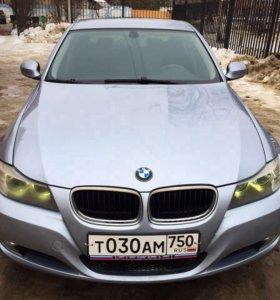 BMW 3, 2010 год. 2 литра.