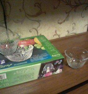 чашечки для десерта 6шт.