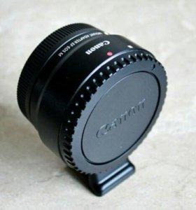 Адаптер EF для Canon Eos M, M2, M3, M5