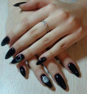 Маникюр (наращивание ногтей)