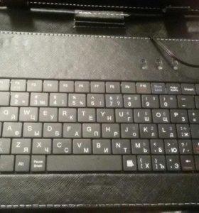 2 в1 Клавиатура и чехол  для планшета