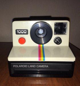 Знаменитый Polaroid РЕТРО-фотоаппарат