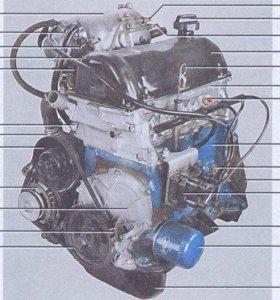 мотор на ваз 2107