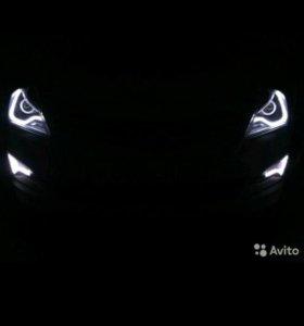 Тюнинг фар Hyundai Solaris