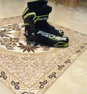 Ботинки лыжные коньковые Fisher