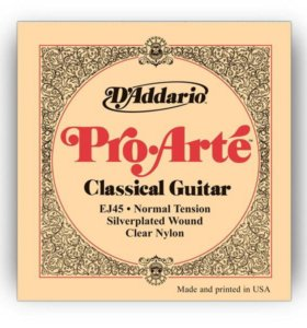 Струны для гитары D'addario ej45