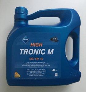 Моторное масло ARAL High Tronic SAE 5W-40