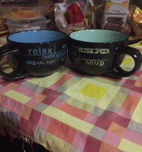 Большие чашки