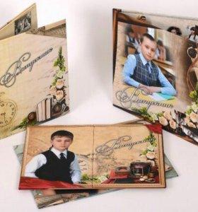 Выпускные фотокниги и фотоальбомы