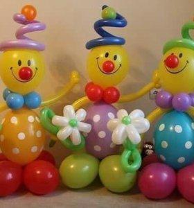 Клоун из шариков