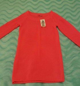 Туника или удлиненная кофта одежда женская
