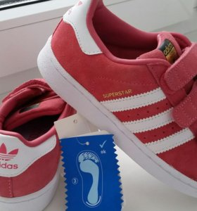 Новые кроссовки Adidas Superstar 34 р.