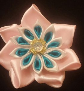 Резинки-цветочки