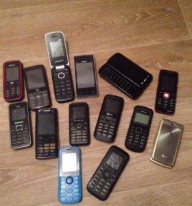Телефоны на запчасти либо под восстановление