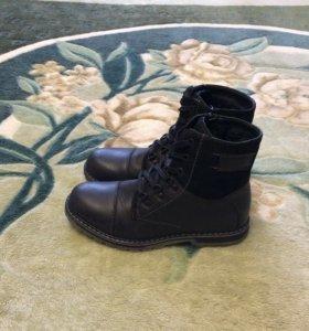 Ботинки высокие зимние р-р 38;р-р 39