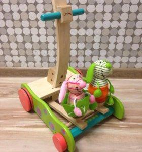 Ходунки-каталка wonderworld (Hopping bunny walker)