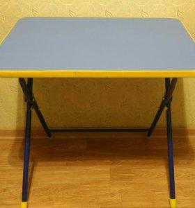 Детский складной столик б/у