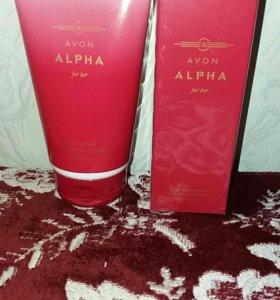 Подарок Набор Alpha(лосьон/парфюм)