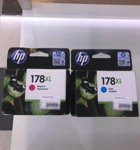 Новые картриджи для принтеров HP