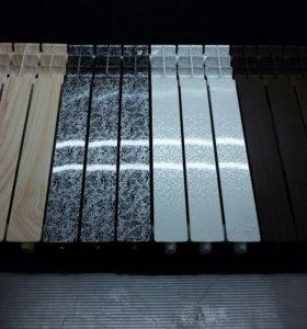 Аквапринт алюминиевых радиаторов