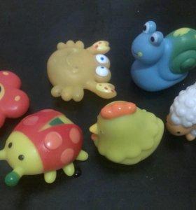 Набор игрушек пищалок
