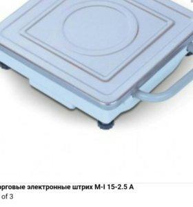 Весы б/у штрих М-I 15-2.5 A