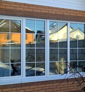 Металопластиковые окна,двери.