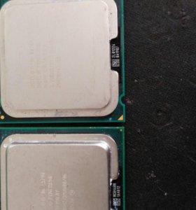 Процессоры intel e5700 и е6700, е7200.