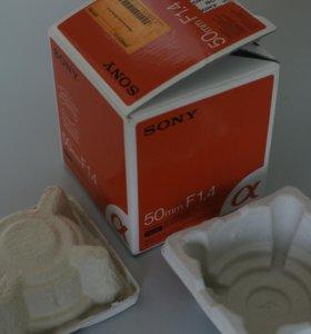 Sony sal50/1.4