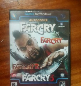 Farcry 1,2,3 часть не потертый есть торг