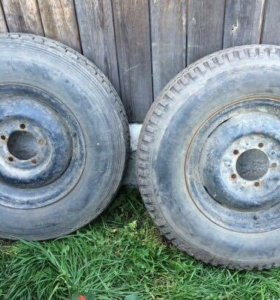Колеса с резиной ГАЗ 69