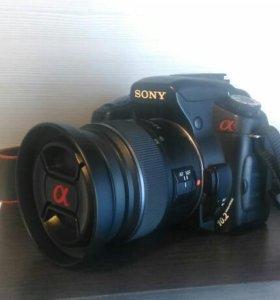 Продам фотоаппарат Sony a200
