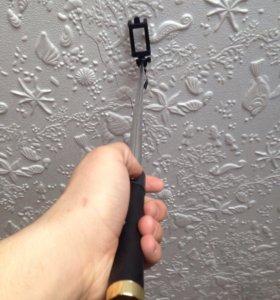 Селфи палка-монопод (iPhone , go pro, android )