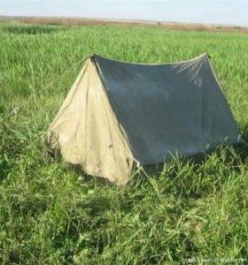 Продам палатку брезентовая
