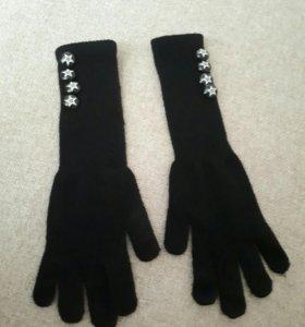 Перчатки новые длинные