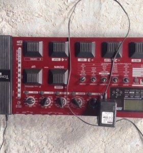 Басовый процессор эффектов Korg Toneworks AX3000B