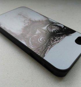"""Чехол на iPhone 4 """"Филин"""""""