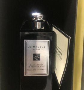 Jo Malone Dark Amber & Ginger Lily London tester
