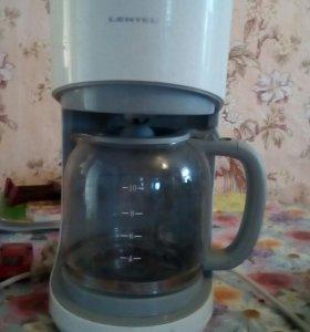 Кофеварка с чайником электрическая