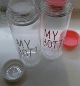 Хит-бутылочка пластик.