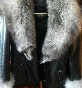 Женская натуральная Куртка Зимняя