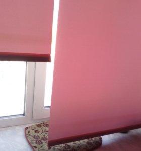 Тюль и рулонные шторы