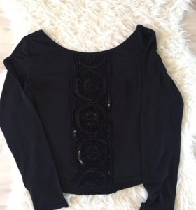 Кофточка чёрная под пиджак