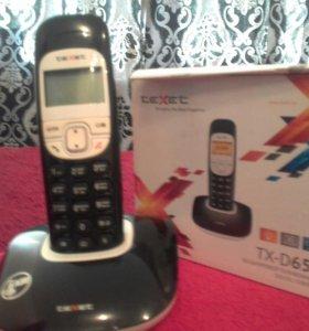 Бесшнуровый телефон Texet