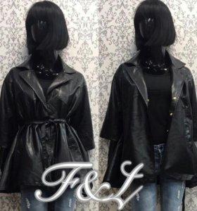 Куртка из экокожи