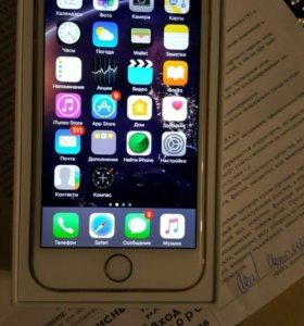 iPhone 6 gold идеального состояния