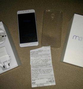 Телефон meizu m3 note новый