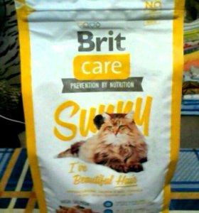 Корм Brit для кошек 2 кг