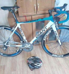 Шоссейный велосипед giant scr 0. Размер М.