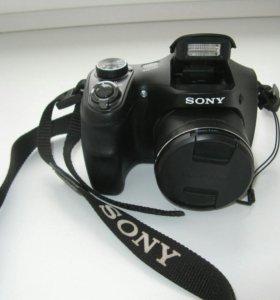 Фотоаппарат SONY DSC-H100+сумка
